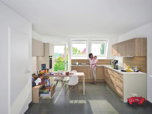 EINBAUKÜCHE - Design, Holz - Nolte Küchen