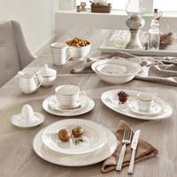 SCHÜSSEL Keramik Porzellan - Beige, Basics, Keramik (14cm) - Ritzenhoff Breker
