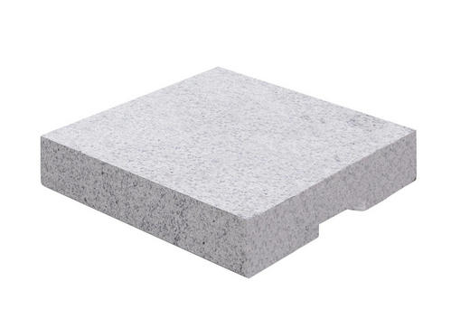 BESCHWERUNGSPLATTE Granit Grau - Grau, Basics, Stein (50/8/50cm)