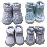SOCKEN 4-ER PACK - Multicolor, Basics, Textil (0-6 Monnull) - My Baby Lou