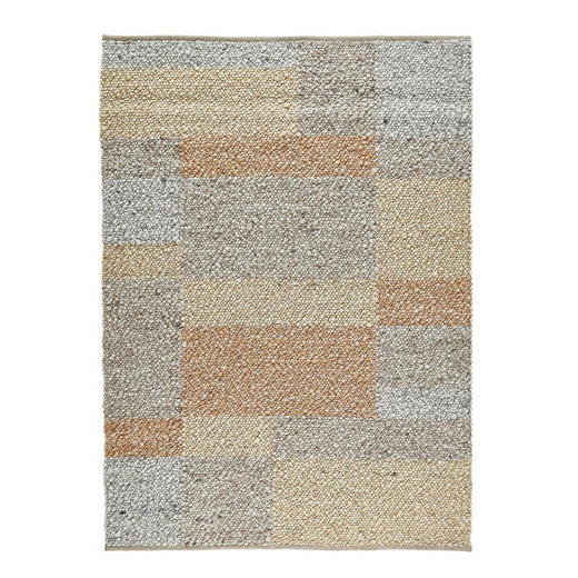 HANDWEBTEPPICH  140/200 cm  Beige, Braun, Naturfarben - Beige/Braun, Textil (140/200cm) - Linea Natura