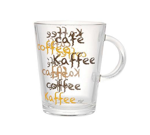 KAFFEEGLAS 420 ml - Klar, KONVENTIONELL, Glas (0,42l) - Ritzenhoff Breker