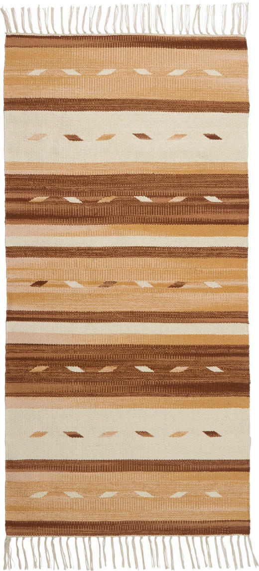 FLECKERLTEPPICH 50/80 cm - Beige, LIFESTYLE, Textil (50/80cm) - Boxxx