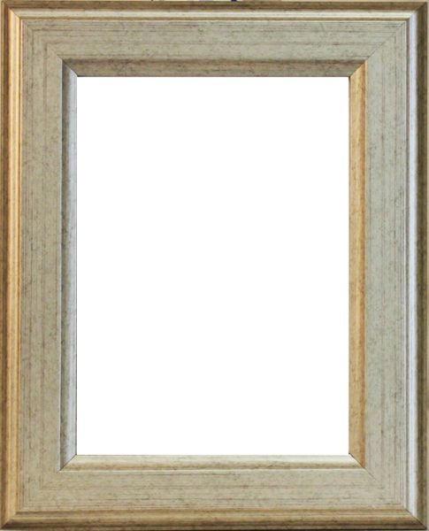 BILDERRAHMEN in Silberfarben - Silberfarben, Basics, Holz (56/76/2cm)