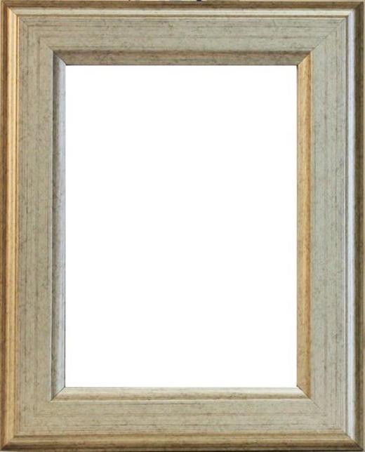 RÁM NA OBRAZY - barvy stříbra, Basics, dřevo (56/76/2cm)
