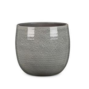 YTTERKRUKA - grå, Klassisk, keramik (28/28/26cm)