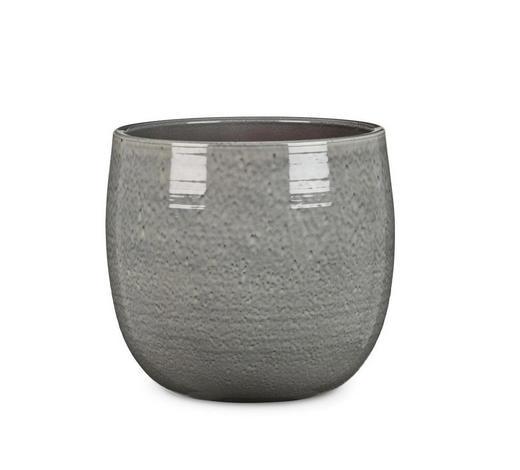 ÜBERTOPF - Grau, KONVENTIONELL, Keramik (28/28/26cm)