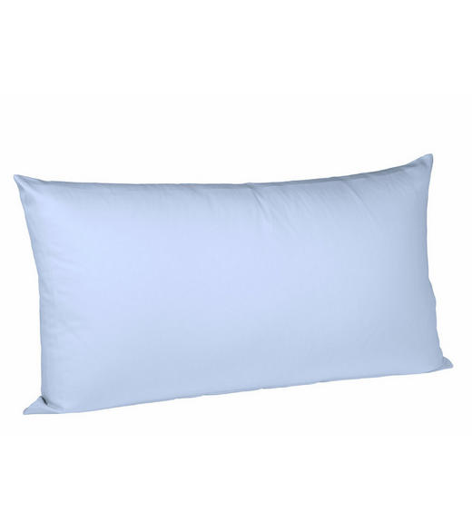 KISSENHÜLLE Hellblau 40/80 cm - Hellblau, Basics, Textil (40/80cm) - FLEURESSE