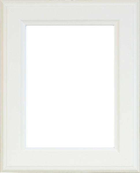 RÁM NA OBRAZY - bílá, Basics, dřevo (24/30/2cm)