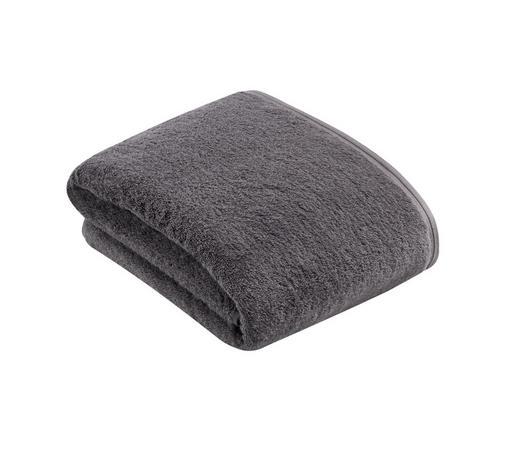 BADETUCH - Dunkelgrau, Basics, Textil (100/150cm) - Vossen