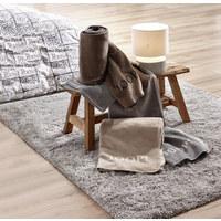 WOHNDECKE 150/200 cm Anthrazit, Taupe - Taupe/Anthrazit, Basics, Textil (150/200cm) - Joop!