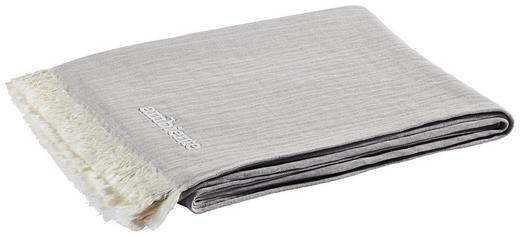 PLAID 130/170 cm Beige, Grau - Beige/Grau, Design, Textil (130/170cm) - Ambiente