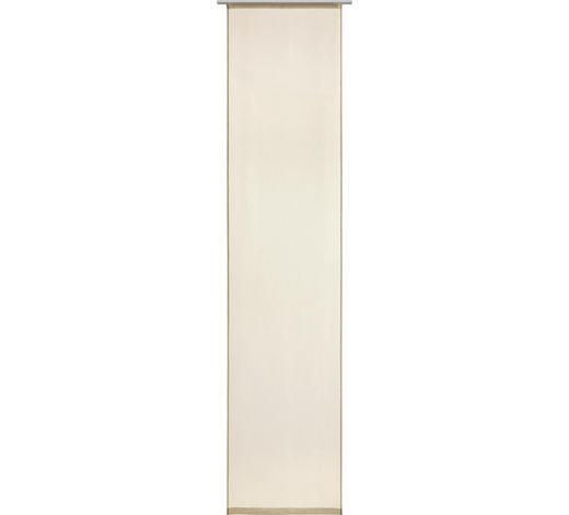 FLÄCHENVORHANG in Beige  - Beige, Design, Textil (60/255cm) - Novel