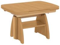 COUCHTISCH in Holzwerkstoff 90-131/65/56-75 cm   - Buchefarben, KONVENTIONELL, Holzwerkstoff (90-131/65/56-75cm) - Venda