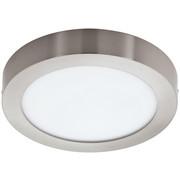 AUFBAULEUCHTE LED-Leuchtmittel  - Weiß/Nickelfarben, Basics, Kunststoff/Metall (22,5/4cm)