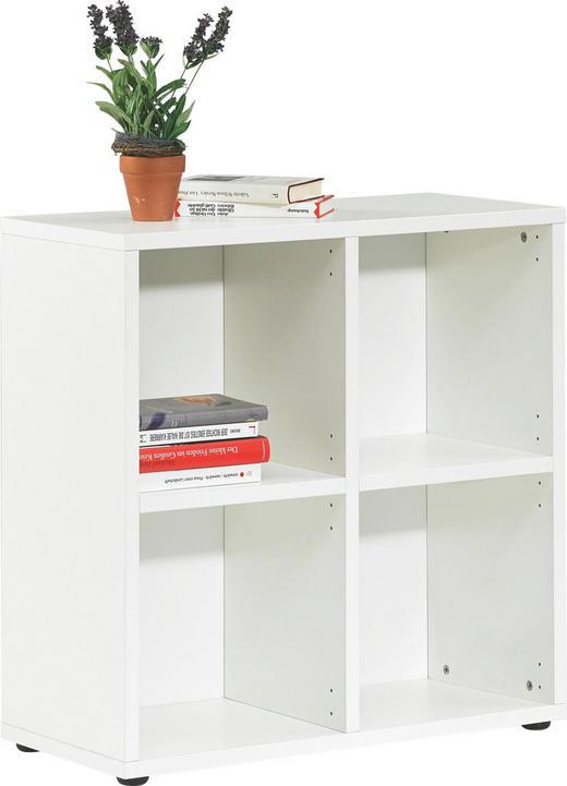 REGAL Weiß - Weiß, Design (72,7/74,2/33,3cm) - Welnova