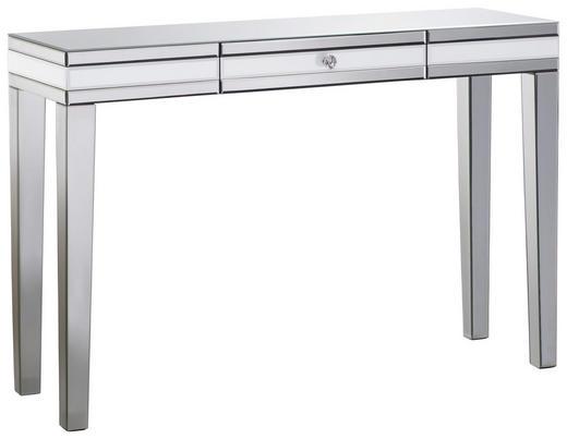 KONSOLE Silberfarben - Silberfarben, Design, Glas (120/80/35,5cm) - Xora