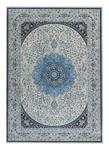 Teppich Dula 120x170 cm - Blau/Grau, ROMANTIK / LANDHAUS, Textil (120/170cm) - James Wood