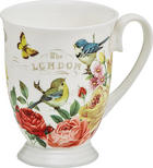 KAFFEEBECHER - Multicolor, Basics, Keramik (0,28l) - LANDSCAPE