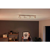 LED-DECKENLEUCHTE - Weiß, Design, Metall (62,8/9/9,3cm) - Philips
