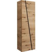 GARDEROBENSCHRANK Eiche furniert, mehrschichtige Massivholzplatte (Tischlerplatte) Eichefarben - Eichefarben, Design, Holz (64/202/42,3cm) - Voglauer