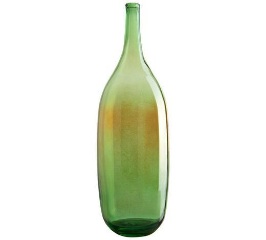 VÁZA, zelená - zelená, Basics, sklo (46cm) - Leonardo