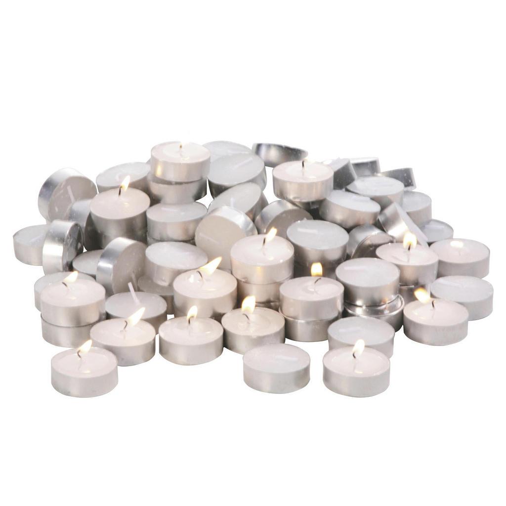 Boxxx Teelicht-Set 100-teilig, Weiß | Dekoration > Kerzen und Kerzenständer > Teelichter | Boxxx