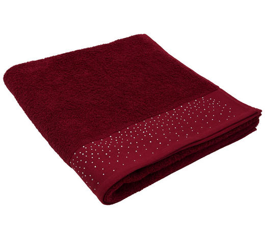 DUSCHTUCH 70/140 cm  - Bordeaux, Basics, Textil (70/140cm) - Esposa