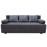 TROSJED SOFA - siva/crna, Design, tekstil (190/80/75cm) - BOXXX