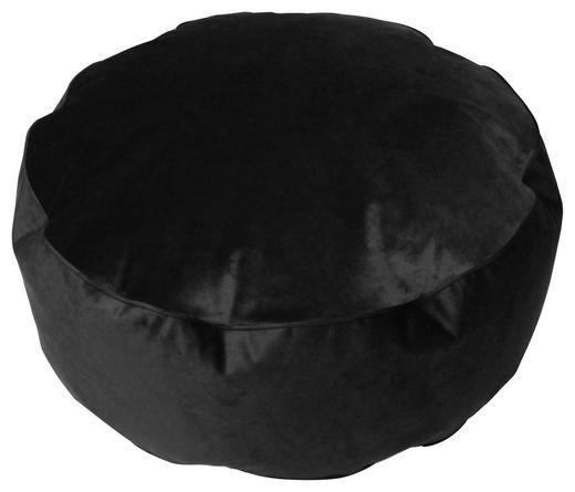 HOCKER in Textil Anthrazit - Anthrazit, MODERN, Textil (80/30cm)