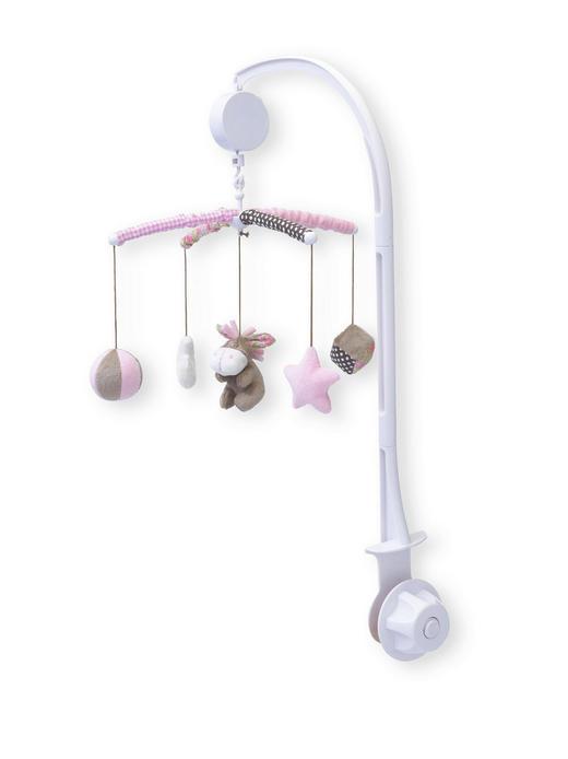 MOBILE - Rosa, Basics, Kunststoff/Textil (34cm) - MY BABY LOU