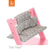 HOCHSTUHLEINLAGE Tripp Trapp - Grau, Trend, Textil (28/21/7cm) - Stokke