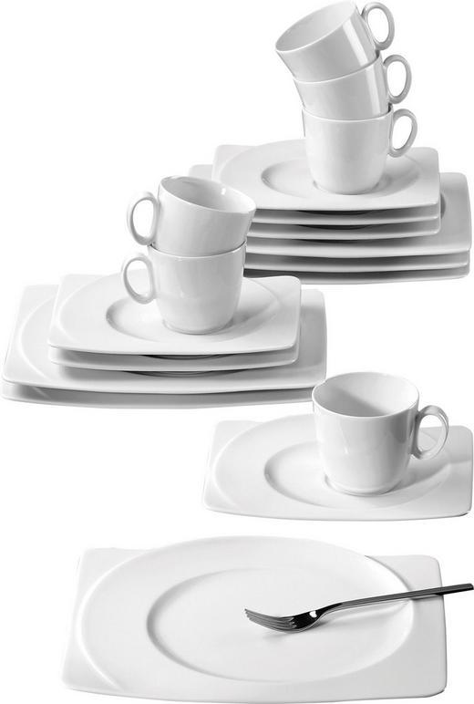KAFFEESERVICE PASO 18-teilig - Weiß, KONVENTIONELL, Keramik - Seltmann Weiden