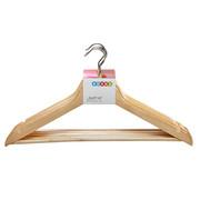 KLEIDERBÜGELSET Holz Naturfarben  - Naturfarben, Basics, Holz (44/16/1,2cm) - Boxxx