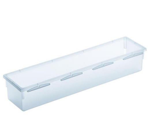 AUFBEWAHRUNGSBOX - Klar, KONVENTIONELL, Kunststoff (30/8/5cm) - Rotho