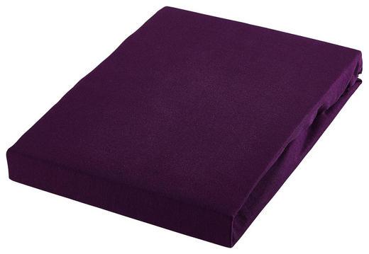 SPANNBETTTUCH Jersey Brombeere bügelleicht, für Wasserbetten geeignet - Brombeere, Basics, Textil (180/200cm) - Esposa