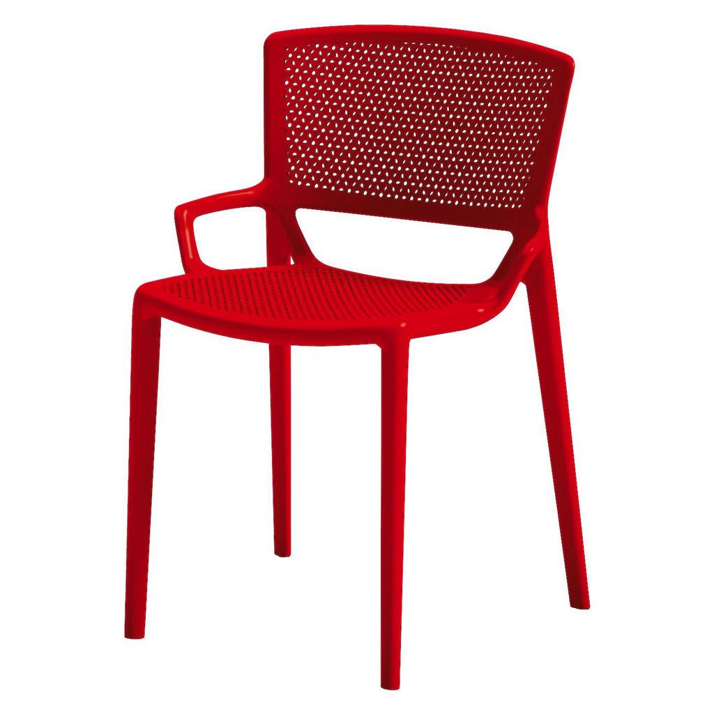 XXXL STAPELSTUHL Rot | Küche und Esszimmer > Stühle und Hocker > Esszimmerstühle | Rot | Kunststoff