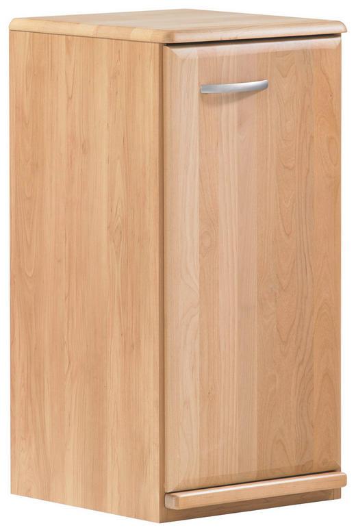 KOMMODE Erle teilmassiv Erlefarben - Erlefarben/Alufarben, KONVENTIONELL, Holz/Metall (39/78/41cm) - Venda