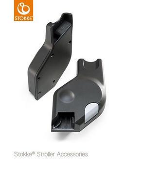 STOKKE ADAPTER MAXI COSI - svart, Basics, plast (1cm) - Stokke
