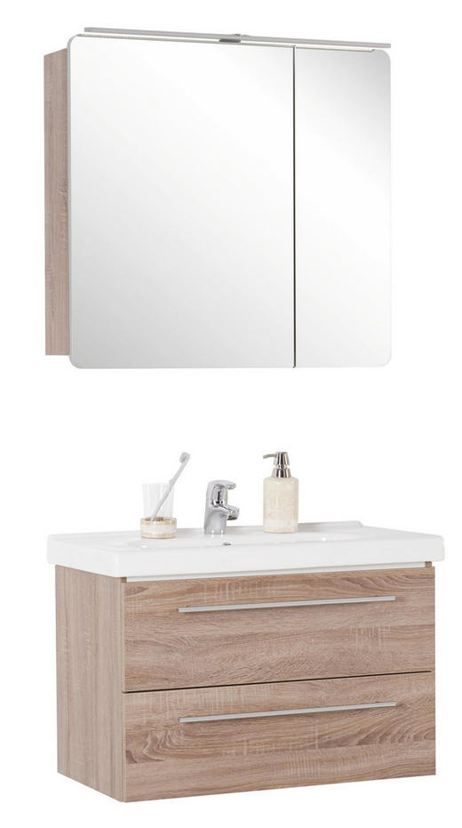 BADEZIMMER - Design, Keramik/Holzwerkstoff (81,4cm) - Welnova