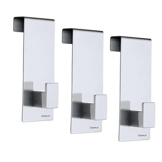 GARDEROBENHAKEN - Design, Metall (4,3/12,1/5,0cm) - Blomus
