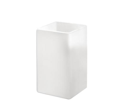 KUPAONSKA ČAŠA  bijela  keramika  - bijela, Konvencionalno, keramika (5/10cm) - Kleine Wolke