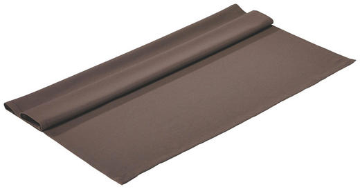TISCHDECKE Textil Braun 100/100 cm - Braun, Basics, Textil (100/100cm)