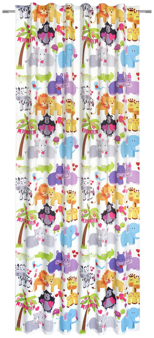 KINDERVORHANG black-out (lichtundurchlässig) - Multicolor, KONVENTIONELL, Textil (140/245/cm) - My Baby Lou