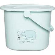 WINDELEIMER - Mintgrün, Trend, Kunststoff (36,5/32/28cm) - Bebe Jou