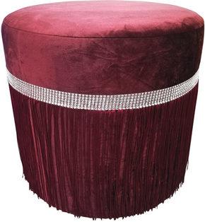 PALL - lila/silver, Design, trä/textil (40/40cm) - Ambia Home