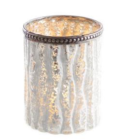 LJUSLYKTA - vit/silver, Lifestyle, glas (8/10,5cm) - X-Mas