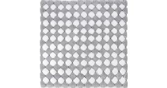 KOPALNIŠKA PREPROGA MERIDA - siva/srebrna, Basics, umetna masa/tekstil (60/60cm) - Kleine Wolke