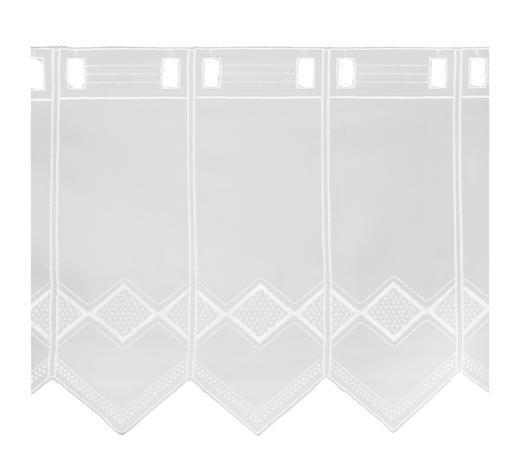 KURZGARDINE 60 cm - Weiß, LIFESTYLE, Textil (60cm) - Esposa
