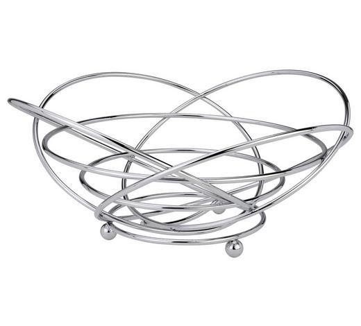 OBSTKORB  - KONVENTIONELL, Metall (32/14cm) - Justinus